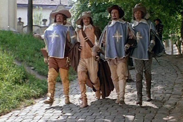 «Д'Артаньян и три мушкетёра»