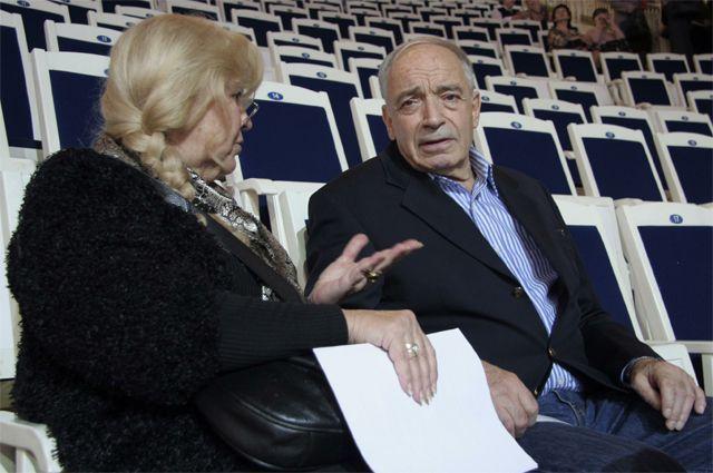 Ольга Остроумова и Валентин Гафт.