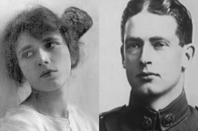 Агата и Арчибальд Кристи в молодости.