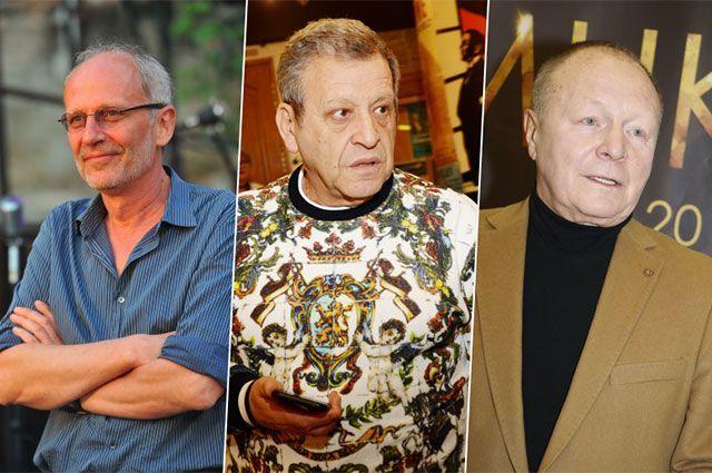 Александр Гордон, Борис Грачевский, Борис Галкин.