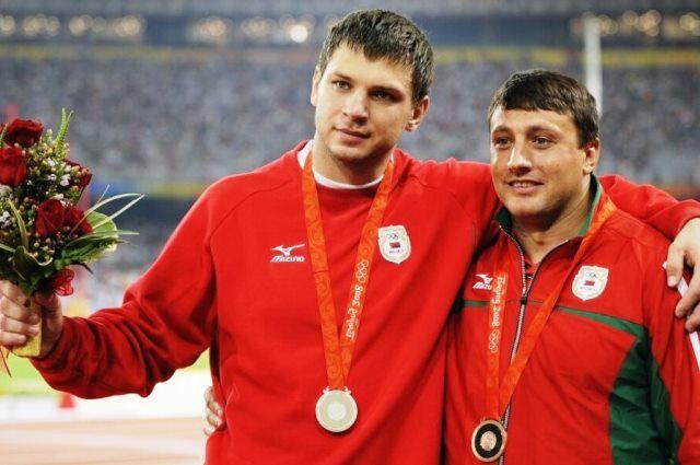 Вадим Девятовский и Иван Тихон. Фото из архива.