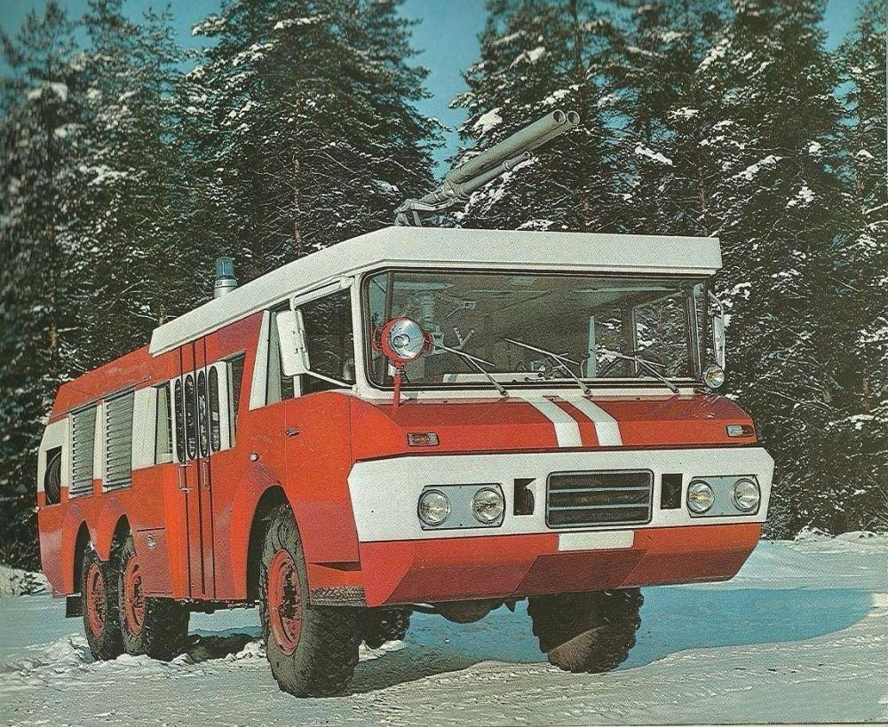 Пожарная машина ЗИЛ SIDES VMA-30, 1977 г.