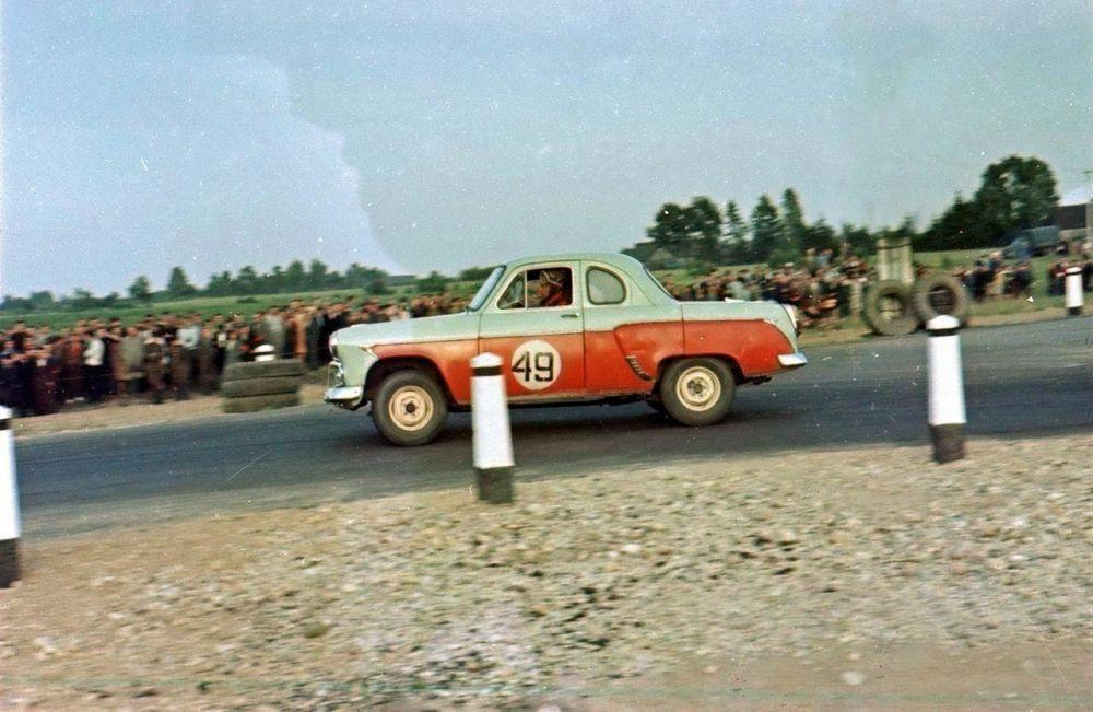 Гоночный «Москвич» на европейских ралли, 1962 г.