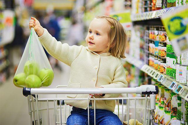 В магазины надо приходить сытым и желательно со списком покупок, который составляется заранее, исходя из недельного меню.