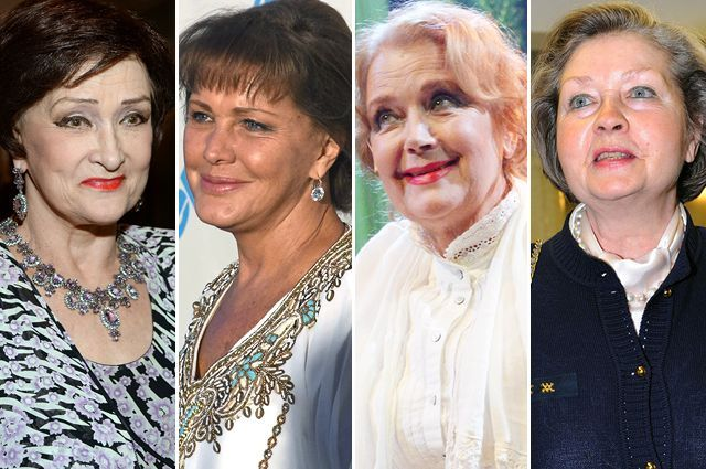 Зинаида Кириенко, Елена Проклова, Ирина Алфёрова, Жанна Болотова.