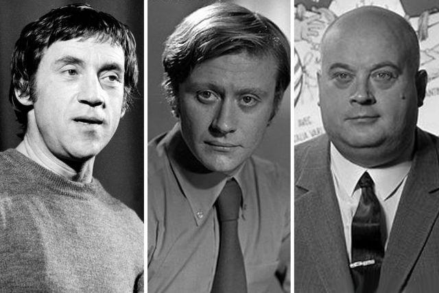 Владимир Высоцкий, Андрей Миронов и Евгений Моргунов.