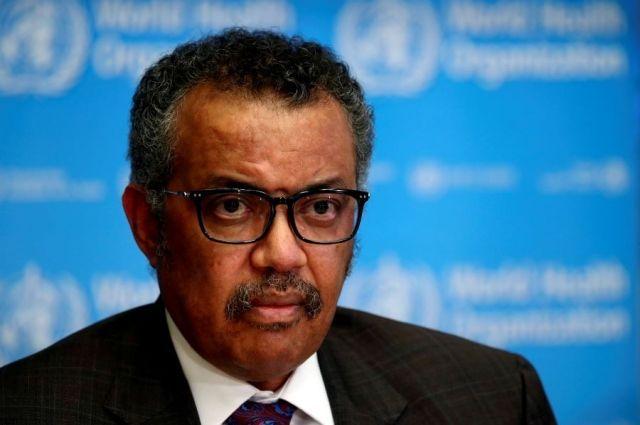 Генеральный директор Всемирной организации здравоохранения Тедрос Аданом Гебрейесус