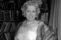 Советская актриса Любовь Петровна Орлова.