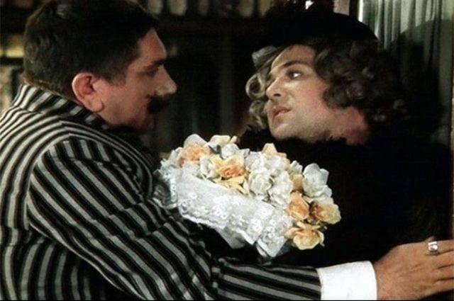Армен Джигарханян и Александр Калягин. «Здравствуйте, я ваша тетя!». 1975 год.