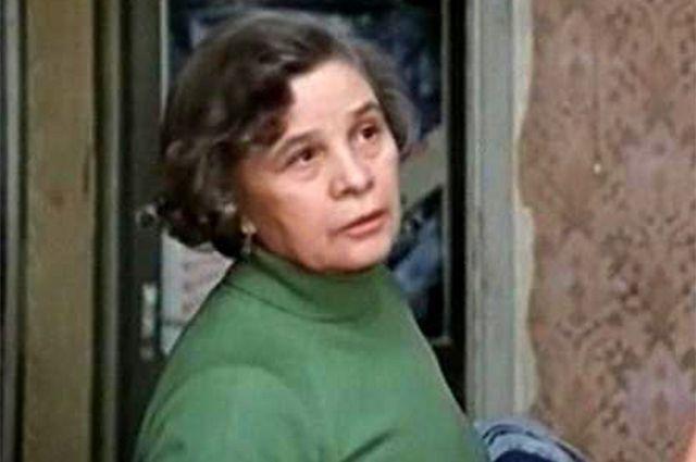 Мария Виноградова в фильме «Дама с попугаем», 1988 г.