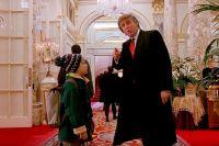 Дональд Трамп в фильме «Один дома 2».