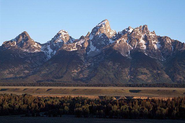 Скалистые горы, штат Вайоминг, США.