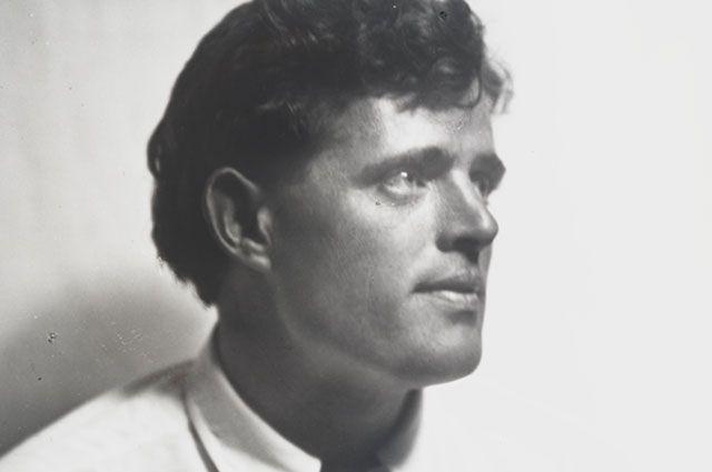Писатель Джек Лондон.