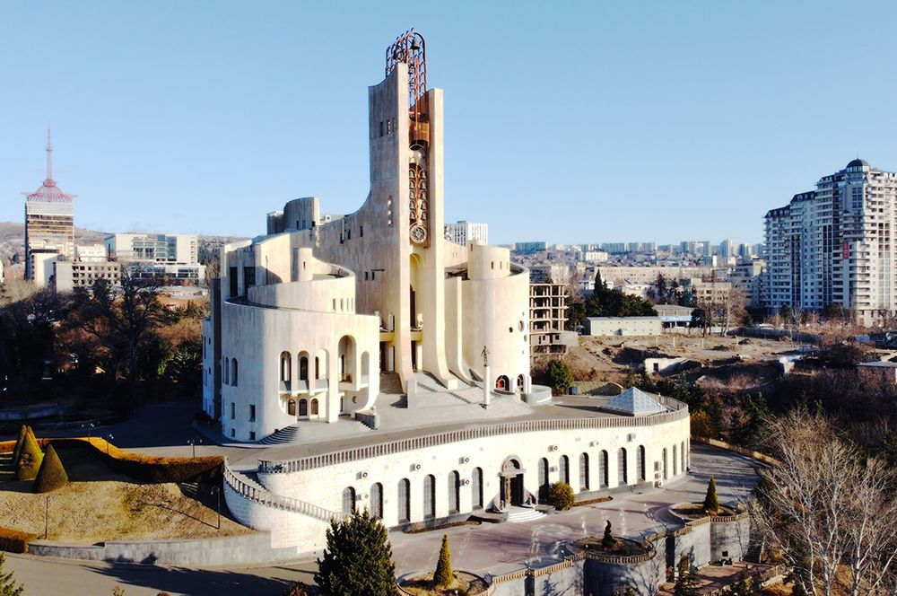 Дворец торжественных обрядов, Тбилиси, Грузия.