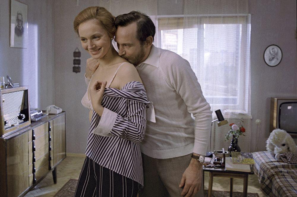 В фильме «Странная женщина», 1977 год.