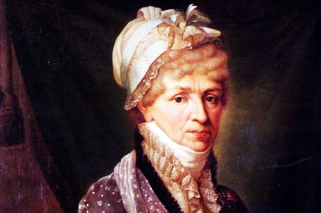 Княгиня Голицына на портрете работы Б.-Ш. Митуара (1810-е).
