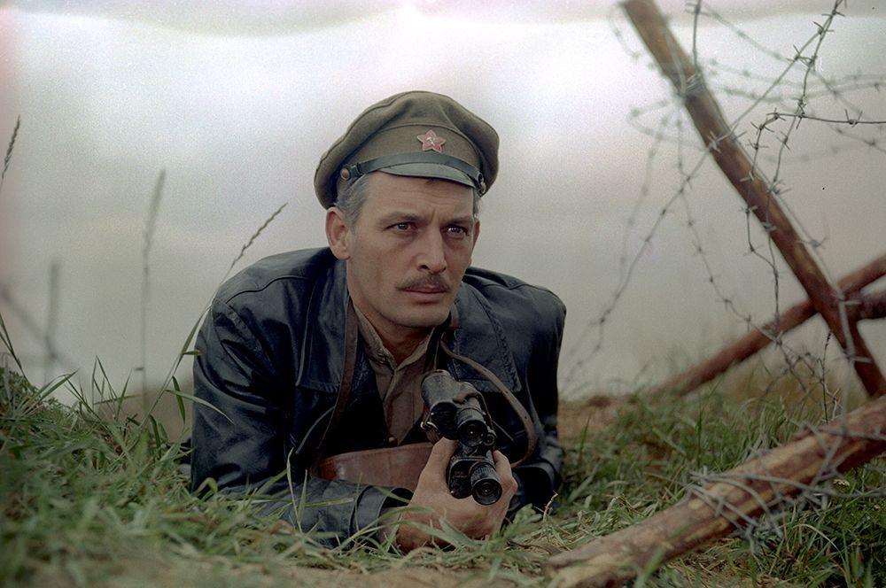 В фильме «Любовь Яровая», 1970 год.