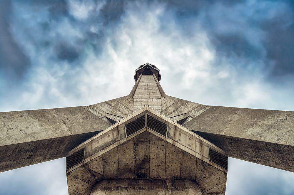 Авальская телебашня, Белград, Сербия.