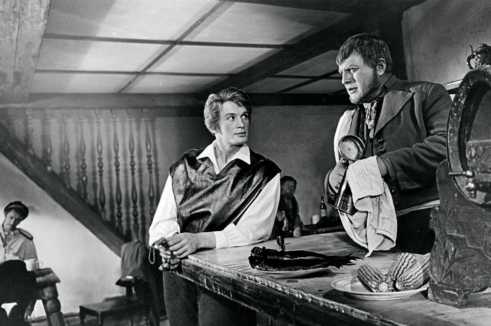 Василий Лановой в роли Артура Грея в фильме «Алые паруса», 1961 год.
