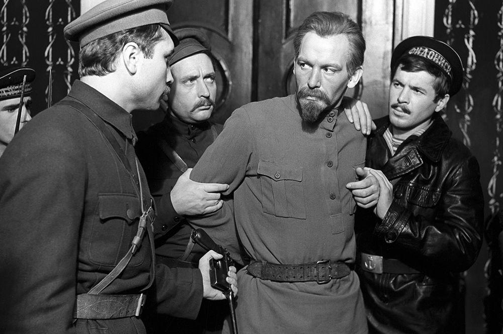 Василий Лановой в роли Дзержинского в фильме Юлия Карасика «Шестое июля», 1968 год.