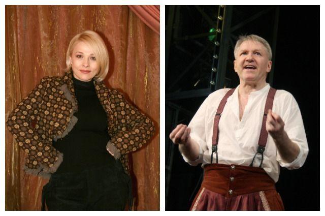 Анна Легчилова и Игорь Бочкин.