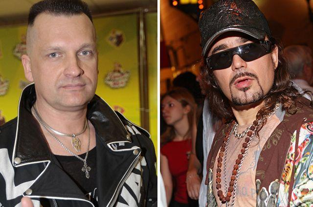 Сергей Лемох и Богдан Титомир.