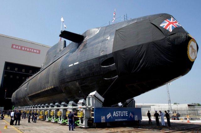 Британия размещает весь свой ядерный арсенал на подводных лодках.