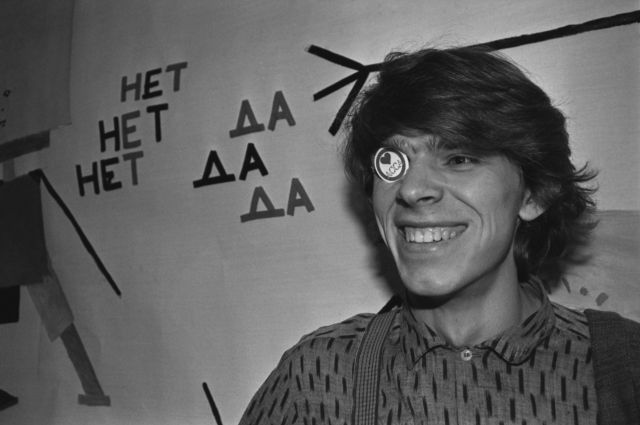 Сергей Бугаев, 1988 г.