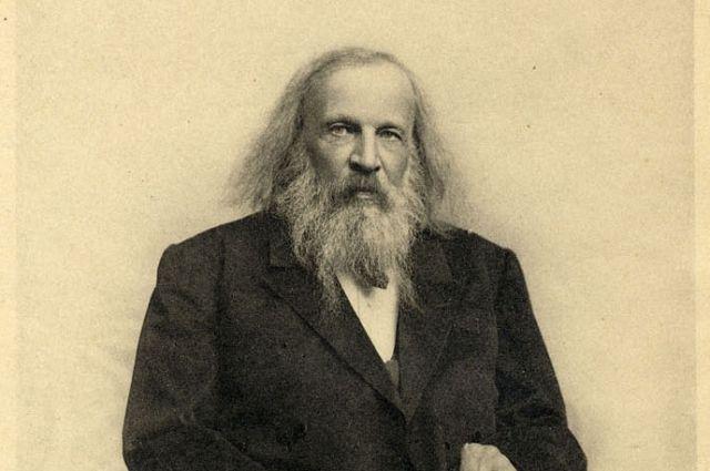 Профессор Санкт-Петербургского университета Дмитрий Менделеев