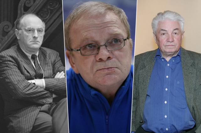 Иосиф Бродский, Николай Годовиков и Владимир Войнович.