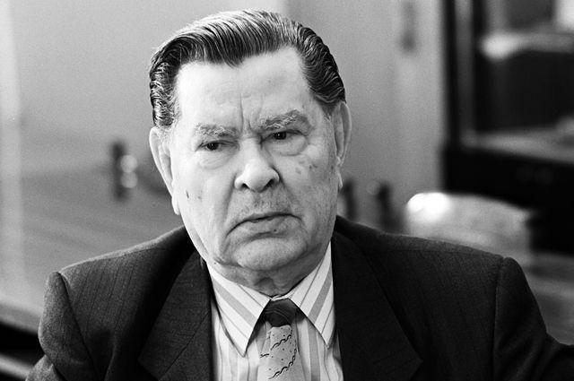 Герой Советского Союза, первый заместитель председателя Российского комитета ветеранов войны и военной службы Алексей Маресьев.