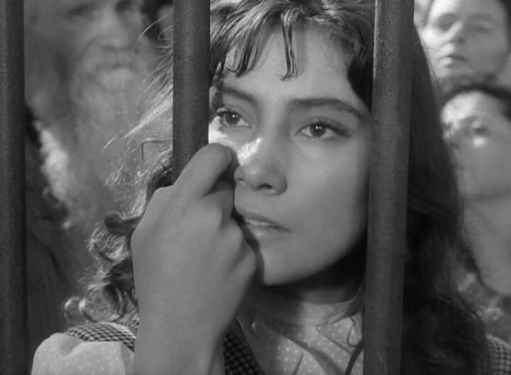 Актриса Татьяна Самойлова в роли Вероники (1957 год).