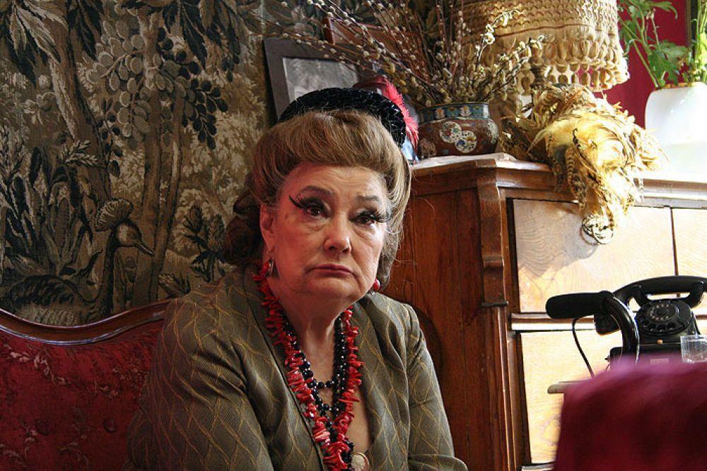 Актриса Татьяна Самойлова в роли Маргариты Ивановны (2008 год).