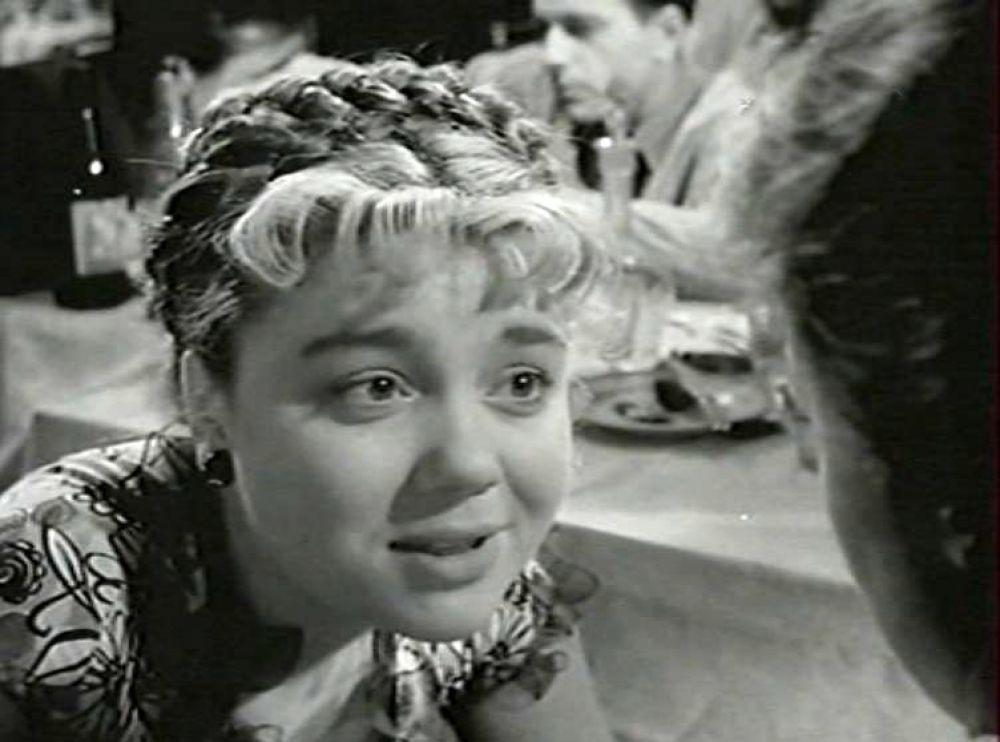 Актриса Нина Дорошина в роли Симы (1956 год).