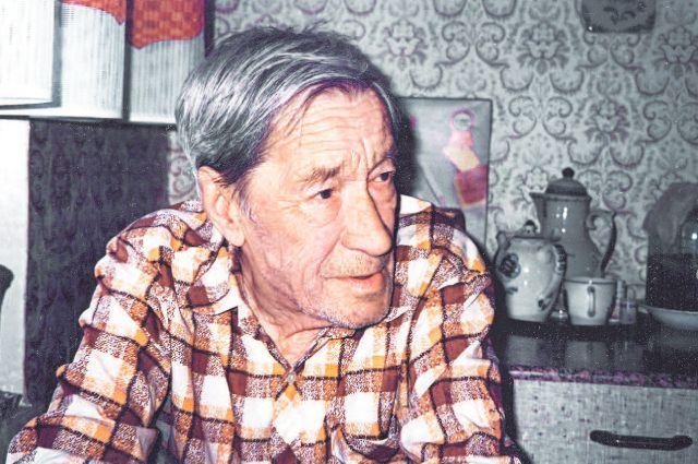 Ветеран войны Григорий Пушкин, 1996 г.