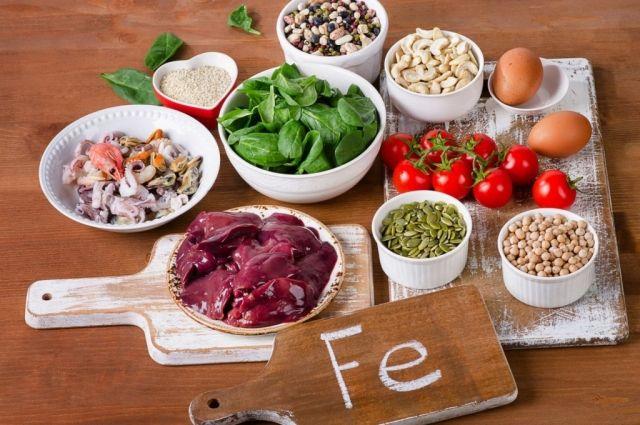 Чтобы уровень гемоглобина был в норме, важно хорошее и правильное питание.