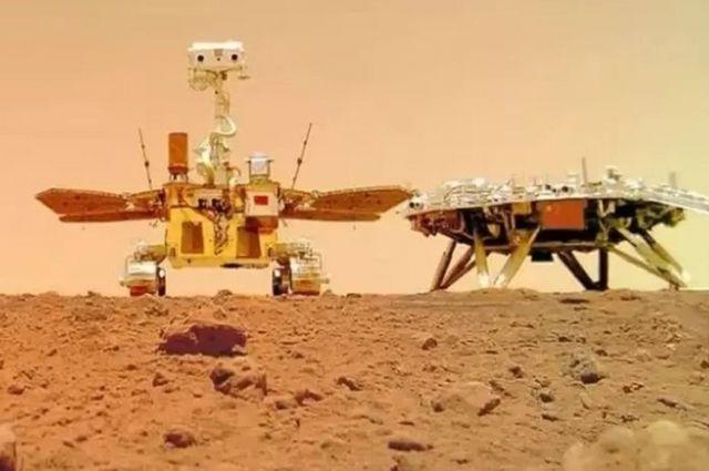 Китайский марсоход прислал