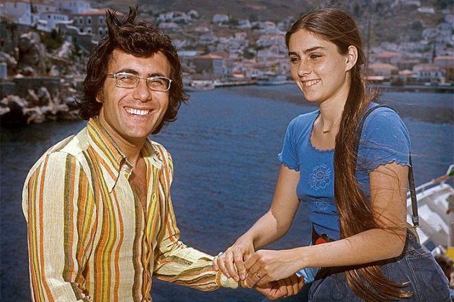 Аль Бано и Ромина Пауэр, 1975 год.