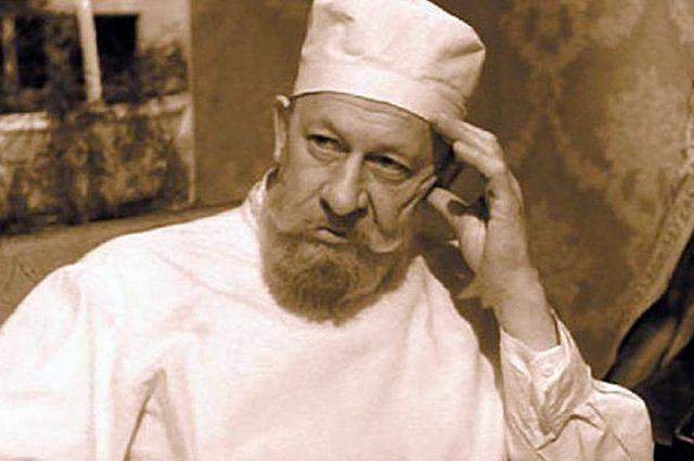 Евгений Евстигнеев в фильме «Собачье сердце», 1988 год